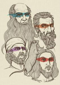 Leonardo, Donatello, Raphael and Michelangelo